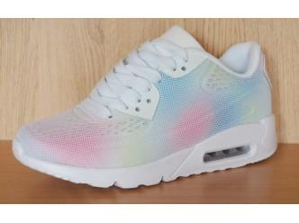 Дамски спортни обувки WHITE/COLORFUL