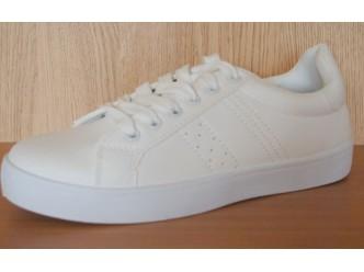 Дамски спортни обувки ALL WHITE