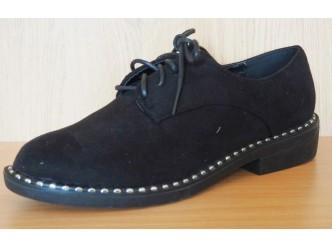 Дамски велурени обувки