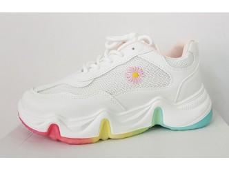 Дамски кецове White/Pink
