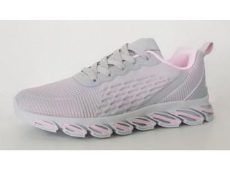 Дамски маратонки GREY/PINK
