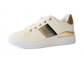 Дамски спортни обувки White/Gold